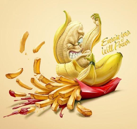 《健康组织公益海报 远离垃圾食品》