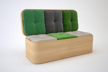 省空间的好设计 多功能餐桌沙发