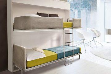 小户型必备家居能自由折叠的创意上下床