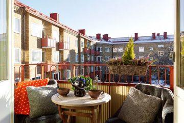 瑞典设计师打造温馨公寓 小空间大容量