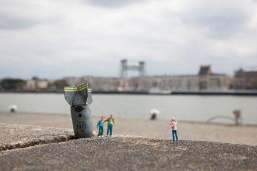 微缩玩具摄影 小人物与大社会