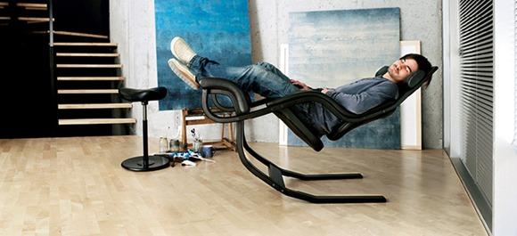 《能够轻松改变重力的舒适靠椅》