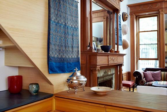 《来感受这个仅有22平米的舒适公寓吧! 小空间高效利用》