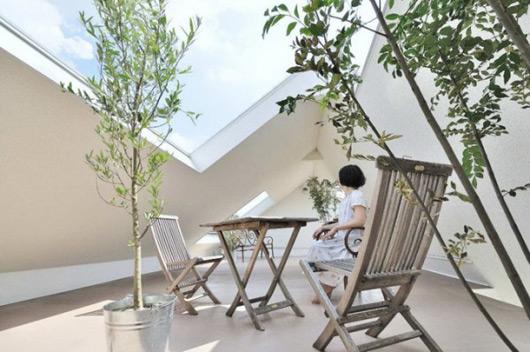 《重视自然感官的日本房屋清新装修》