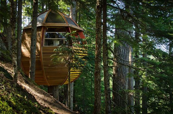 《创意森林小木屋 丛林中的秘密基地》