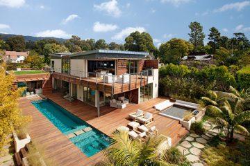 加州豪华别墅装修设计 简洁中的舒适奢华
