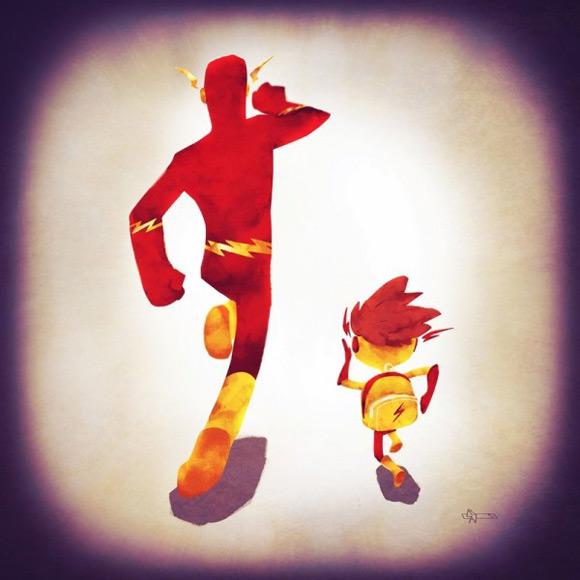 《有家之后的超级英雄 让人感受到温馨的超级背影》