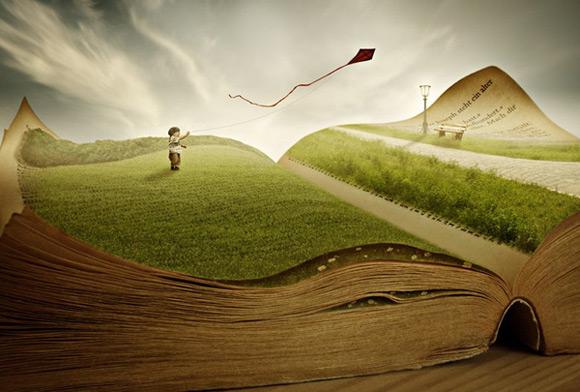 《童真印象的艺术演绎 童话般的创意插画》