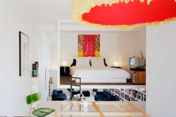 小户型公寓错层装修改造项目