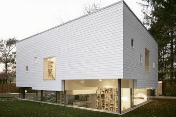 结构交错有趣的创意房屋设计