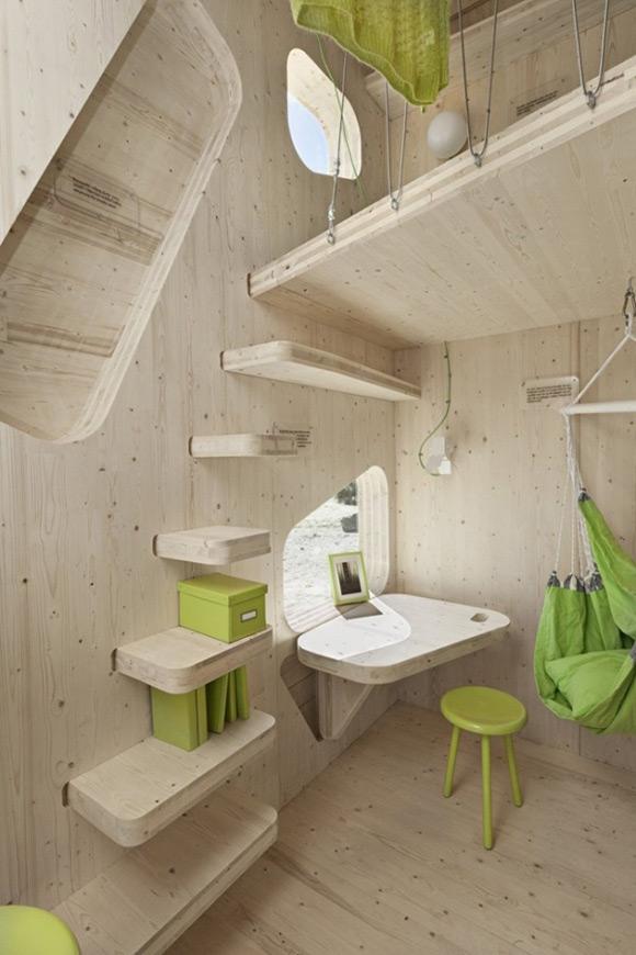 《十平米超级创意个人空间 学生的梦想居所》