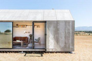 创意理想住宅可移动的水泥小屋