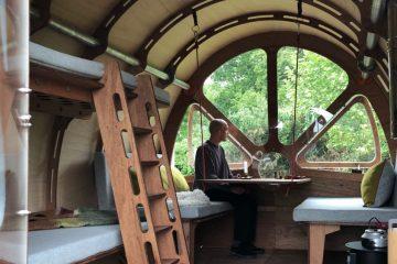 舒适的特制环保科技帐篷小木屋