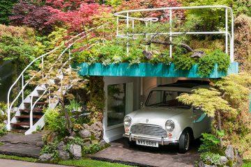 车库也一定要像花园一样美到超凡脱俗
