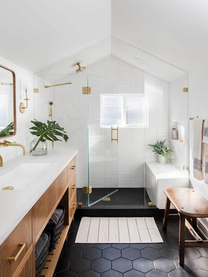 《精致阁楼改造设计,点金的五金搭配出极为舒适的奢华风》