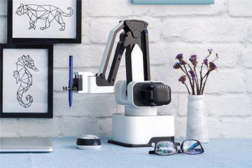 家用集成3D打印和平面多手法打印的机械臂进入生活