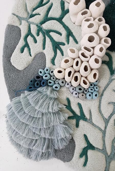 《来自于亚特兰蒂斯海洋世界的地毯设计灵感》