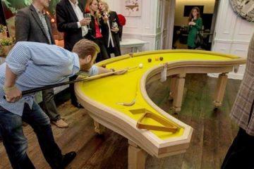新奇的台球桌设计,打破你对台球的固有想法