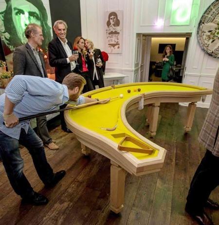 《新奇的台球桌设计,打破你对台球的固有想法》